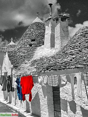 Alberobello: Trulli - Waschtag