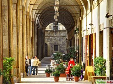 Arezzo: Arkaden