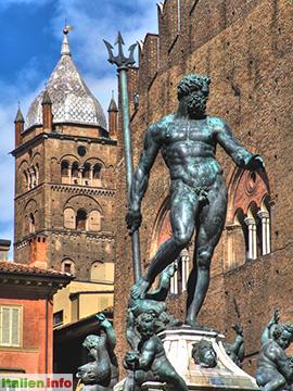 Bologna: Neptunbrunnen
