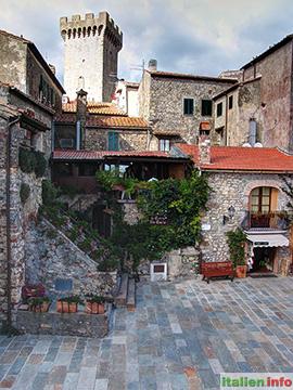 Capalbio: Mittelalterliches Städtchen