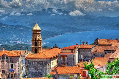 San Giovanni a Piro: Blick auf die Cilento-Küste