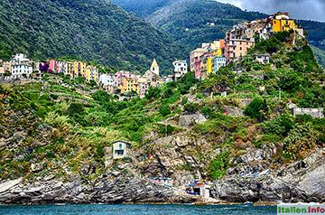 Corniglia: Spektakuläre Lage