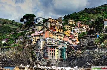 Riomaggiore: Am Steilhang