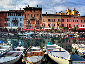 Desenzano del Garda: Im Hafen