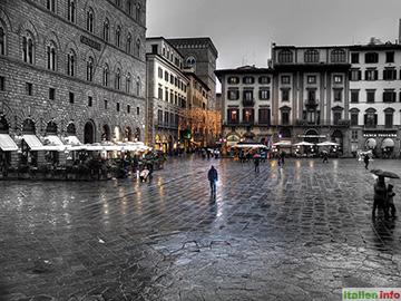 Florenz: Piazza della Signoria
