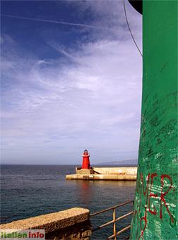 Giglio Porto: Leuchtürme
