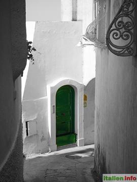 Capri: Altstadtgasse