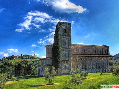 Montalcino: Abbazia di Sant´Antimo