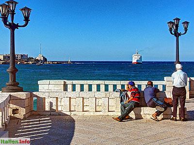 Otranto: Hafen