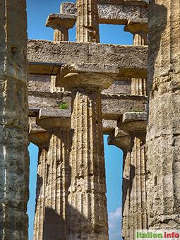 Paestum: Poseidon-Tempel