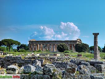Paestum: Tempel aus griechischer und römischer Epoche