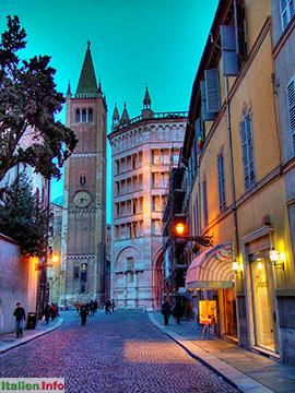 Parma: Baptisterium