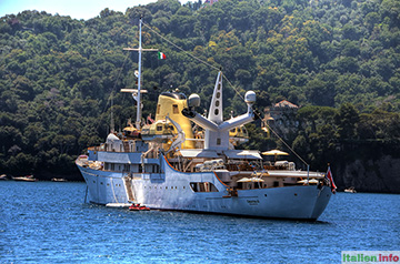 Portofino: Luxusyacht Christina O