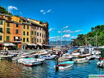 Portofino: Im Hafen