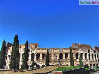 Rom: Kolosseum - Rückseite