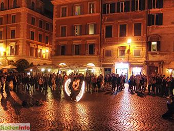 Rom: Trastevere, Piazza di Santa Maria