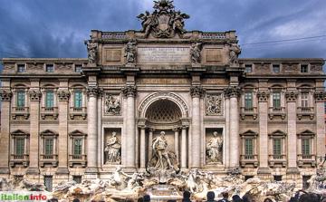 Rom: Trevibrunnen, Fontana di Trevi