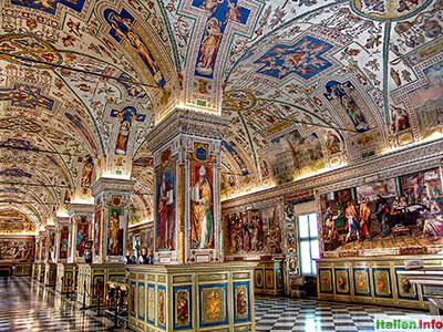 Rom: Vatikanische Museen - Biblioteca Apostolica