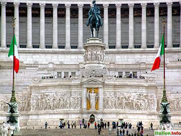 Rom: Piazza Venezia, Altare della Patria