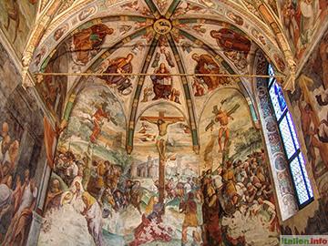 San Daniele: Fresken in Sant´Antonio Abate