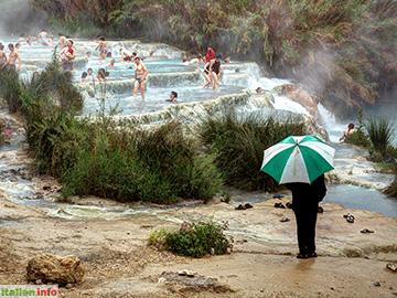 Manciano: Badefreuden in den heißen Fluten bei Saturnia
