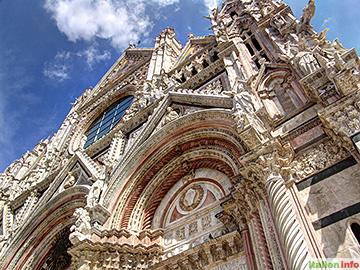 Siena: Dom Santa Maria Assunta - Fassade