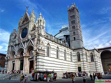 Siena: Dom Santa Maria Assunta - Gesamtansicht