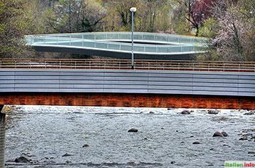 Bozen: Brücken über die Talfer