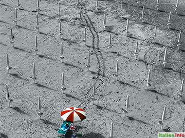 Termoli: Einsamer Strand
