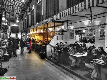 Florenz: Markthalle