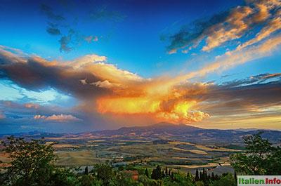 Pienza: Val d`Orcia und Monte Amiata