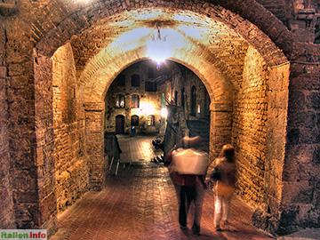 San Gimignano: Abendspaziergang