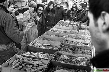 Trani: Fischverkauf