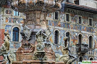Trient: Neptunbrunnen