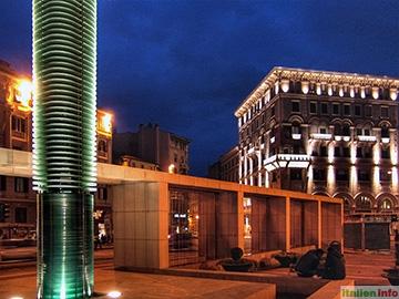 Triest: Piazza Carlo Goldini