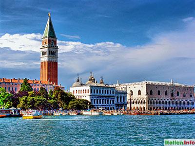 Venedig: Markusturm und Dogenpalast