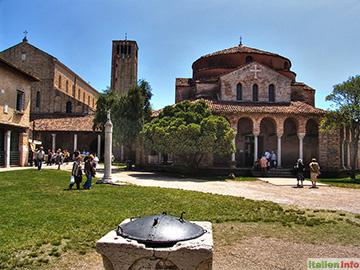 Venedig: Insel Torcello - S. Fosca und S. Maria Assunta