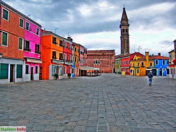 Venedig: Insel Burano