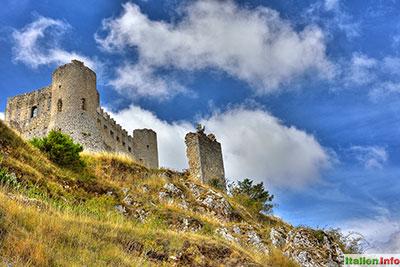 Calascio: Rocca Calascio - Burg
