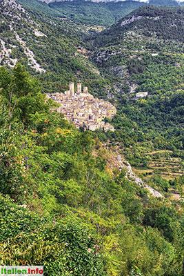 Pacentro: Verwegene Lage am Berghang