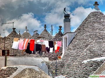 Alberobello: Trulli-Dächer
