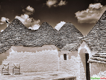 Alberobello: Trulli - weiß getüncht