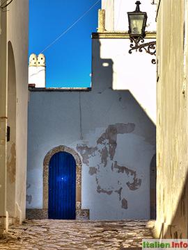 Otranto: Altstadtgasse