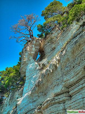 Vieste: Gargano-Steilküste