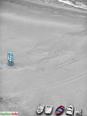Vieste: Strand