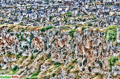 """Matera: Höhlenwohnungen, die berühmten """"Sassi"""""""