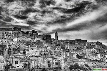 Matera: Altstadt