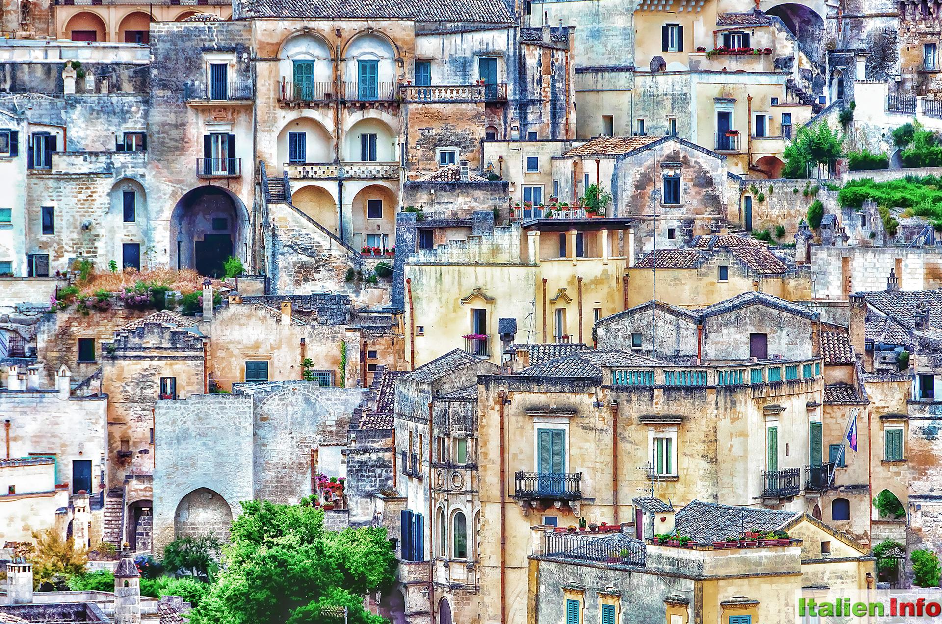 Häuser Italien matera impressionen fotos und bilder italien info