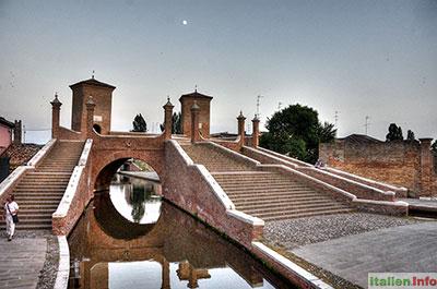 Comacchio: Trepponti-Brücke