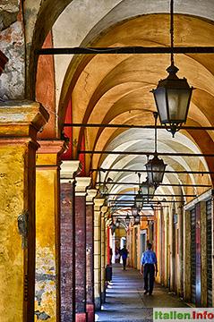 Modena: Arkadengänge